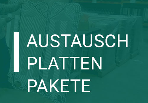 Ersatzteile: Austauschplattenpakete für Plattenwärmetauscher