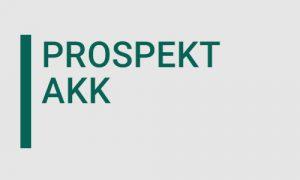 Prospekt der AKK Industrieservice GmbH